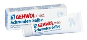 GEHWOL Med Schrunden-Salbe, Maść do zrogowaciałej, popękanej, wysuszonej i szorstkiej skóry, 125 ml
