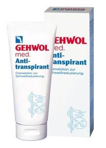 GEHWOL Med Antitranspirant, Lotion antyperspiracyjny do stóp, 125 ml
