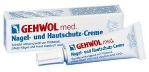 GEHWOL Med Nagel und Hautschutz Creme, Krem pielęgnacyjny do skórek i paznokci, 15 ml