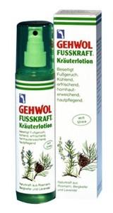 GEHWOL Fusskraft Kräuterlotion, Lotion ziołowy do stóp, 150 ml