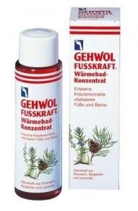 GEHWOL Fusskraft Wärme-Konzentrat, Koncentrat rozgrzewający do kąpieli stóp, 150 ml