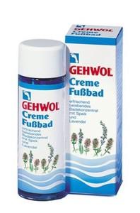 GEHWOL Creme-Fussbad, Płyn lawendowy do kąpieli stóp, 150 ml
