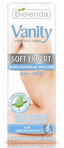 BIELENDA Vanity Soft Expert, Ultra nawilżający zestaw do depilacji ciało i bikini, 100 ml