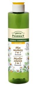 GREEN PHARMACY, Płyn micelarny 3w1 Rumianek, 250 ml