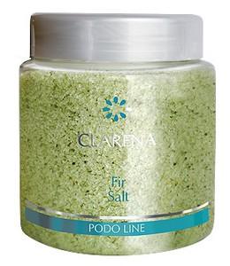 CLARENA Fir Salt,  Jodłowa sól do kąpieli stóp, 250g