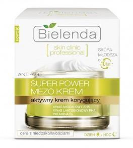 BIELENDA Skin Clinic Professional, Aktywny krem korygujący ANTI-AGE dzień/ noc, cera mieszana, tłusta, 50 ml