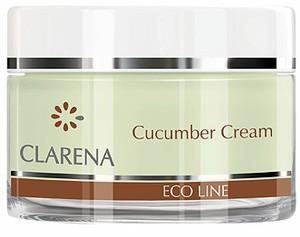 CLARENA Cucumber Cream, Krem oczyszczający z ogórkiem, cera tłusta, łojotokowa, 50 ml