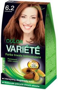 CHANTAL Color Variete, Trwale koloryzująca farba do włosów, 6.2 Cynamon, 1 op.