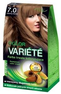 CHANTAL Color Variete, Trwale koloryzująca farba do włosów, 7.0 Ciemny Blond, 1 op.