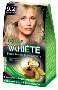 CHANTAL Color Variete, Trwale koloryzująca farba do włosów, 9.2 Perłowy Blond, 1 op.
