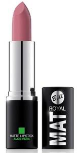 BELL Royal Mat Lipstick, Matowa pomadka do ust z aloesem nr 01, 5g