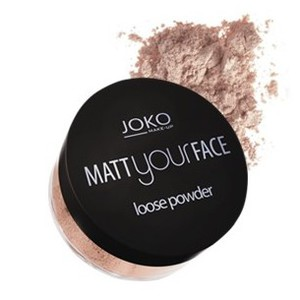 JOKO Matt Your Face Powder, Matujący puder sypki, nr 23, 11g