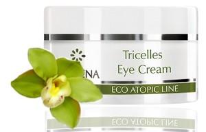 CLARENA Tricelles Eye Cream, Krem pod oczy z 3 rodzajami komórek macierzystych, 15 ml