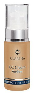 CLARENA CC Cream, Podkład kryjący Amber, cera naczynkowa, 30 ml