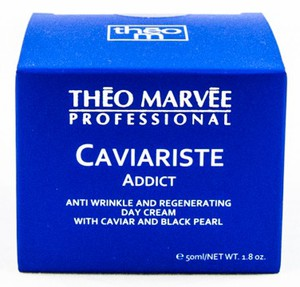 THEO MARVEE Caviariste Addict Cream, Przeciwzmarszczkowy krem z kawiorem i perłą na dzień, 50 ml