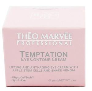 THEO MARVEE Temptation Eye Contour Cream, Krem przeciwzmarszczkowy z jadem węża i komórkami macierzystymi pod oczy, 30 ml