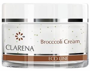 CLARENA Broccoli Cream, Ekologiczny krem brokułowy, każda cera, 50 ml