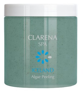 CLARENA SPA Iceland Algae Peeling, Peeling solny do ciała z algami, 200 ml