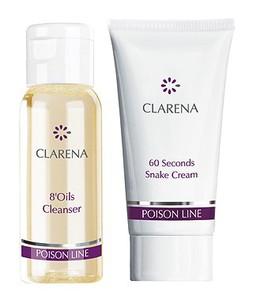 CLARENA Poison Mini Set, Mini zestaw kosmetyków do cery dojrzałej, 30 + 15 ml