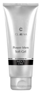 CLARENA Power Men Soft Gel, Myjąco-zmiękczający żel dla mężczyzn, 100 ml