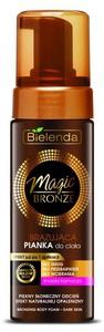 BIELENDA Magic Bronze, Brązująca pianka do ciała, ciemna karnacja, 150 ml