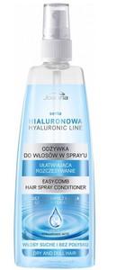 JOANNA Hialuronowa, Odżywka w sprayu do włosów z kwasem hialuronowym, włosy suche, 150 ml