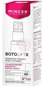 [W] MINCER BotoLift X 40+, Serum liftingujące do twarzy, każda cera, 30 ml