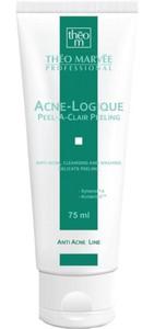 THEO MARVEE Acne Logique Peel a Clair Peeling, Antybakteryjny peeling myjący, cera trądzikowa, tłusta i mieszana, 75 ml