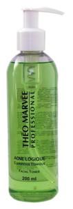 THEO MARVEE Acne Logique Claryfique Tonique, Antybakteryjny tonik alkoholowy, cera trądzikowa, tłusta i mieszana, 200 ml