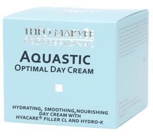 THEO MARVEE Aquastic Optimal Day Cream, Silnie nawilżający krem na dzień, cera sucha i odwodniona, 50 ml