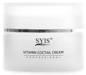 SYIS Vitamin Coctail Cream, Krem do twarzy witaminowy koktajl, cera sucha i szara, 50 ml