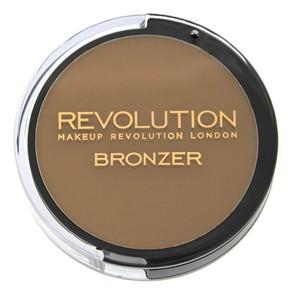 MAKEUP REVOLUTION Bronzer, Puder brązujący Kiss, 6,5g