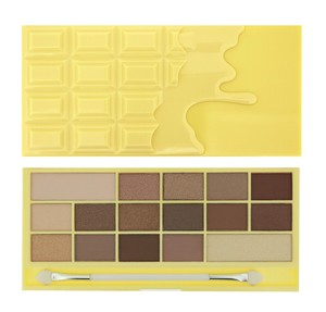 MAKEUP REVOLUTION I Love Make Up Palette, Zestaw cieni do powiek 16 kolorów, Naked Chocolate, 22g