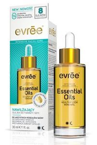 EVREE Intensive Facial Care, Nawilżający olejek do twarzy Essential Oils 20+, każda cera, 30 ml