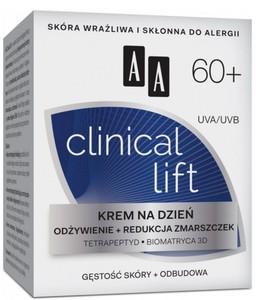 AA Clinical Lift 60+, Krem na dzień odżywienie i redukcja zmarszczek, 50 ml