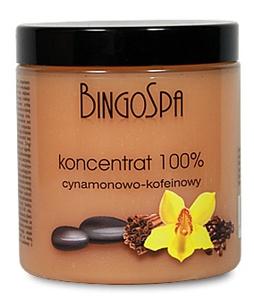 BINGO SPA, Koncentrat 100% cynamonowo - kofeinowy na cellulit, 250 g