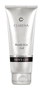 CLARENA Ready 2 Go Gel, Żel pod prysznic i szampon 3w1 dla mężczyzn, 200 ml
