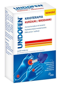 UNDOFEN, Krioterapia na kurzajki i brodawki, aerozol, 50 ml