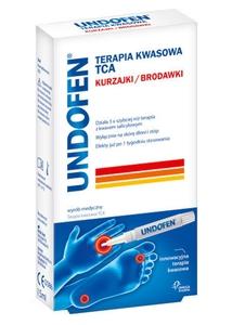 UNDOFEN, Kuracja kwasowa TCA w żelu na kurzajki, brodawki, 1,5 ml
