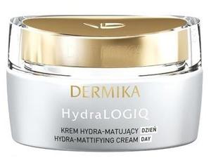 DERMIKA HydraLOGIQ, Hydra-matujący krem na dzień 30+, cera mieszana i normalna, 50ml