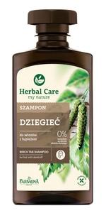FARMONA Herbal Care, Szampon do włosów Dziegieć, włosy z łupieżem, 330 ml