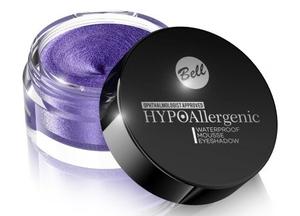 BELL Hypoallergenic Waterproof Mousse Eyeshadow, Hypoalergiczny, wodoodporny cień w musie, nr 07