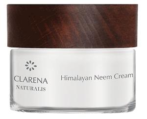CLARENA Naturalis, Himalayan Neem Cream - 100% wegański, naturalny krem z olejem neem, cera tłusta, 15 ml