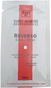 THEO MARVEE Reverso Excel Mask, Regenerująca i odżywcza maska na twarz, cera lipidowa, sucha, dojrzała, 10 ml