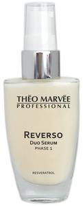 THEO MARVEE Reverso Duo Serum Phase 1, Silne, odżywcze serum emulsyjne, cera lipidowa, sucha, dojrzała, 30 ml