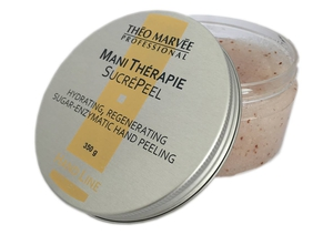 THEO MARVEE Mani Therapie SucréPeel, Cukrowo - enzymatyczny peeling do rąk, 350g