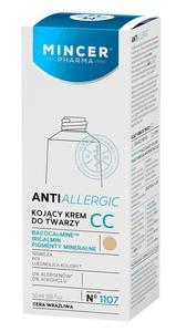 MINCER Antiallergic, Kojący krem do twarzy CC, cera wrażliwa, 50 ml