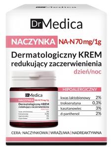 BIELENDA Dr Medica Naczynka, Dermatologiczny krem redukujący zaczerwienienia, cera naczyniowa, wrażliwa, 50 ml