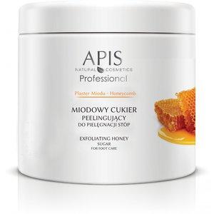 APIS Plaster Miodu, Miodowy cukier peelingujący do pielęgnacji suchej skóry stóp, 700 g