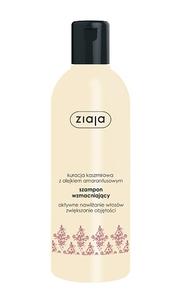 ZIAJA Kuracja Olejkami, Kaszmirowy, skoncentrowany szampon wzmacniający, włosy cienkie, delikatne i suche, 300 ml